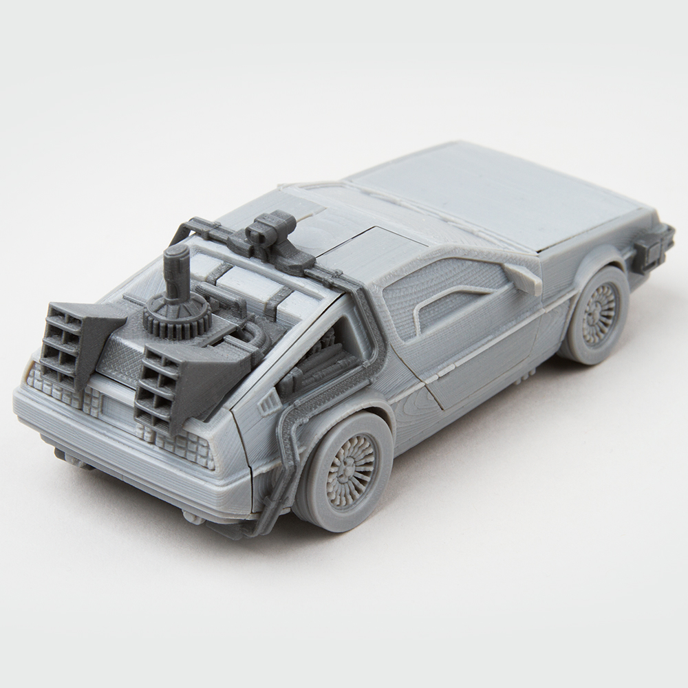 Time machine add on parts for Delorean