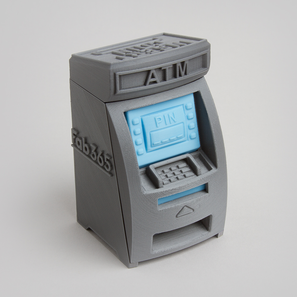 ATM money box