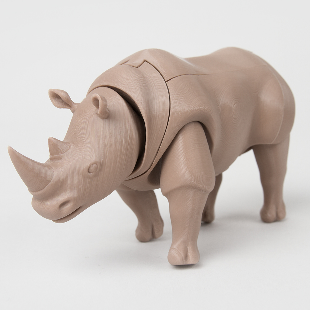 Foldable Rhinoceros