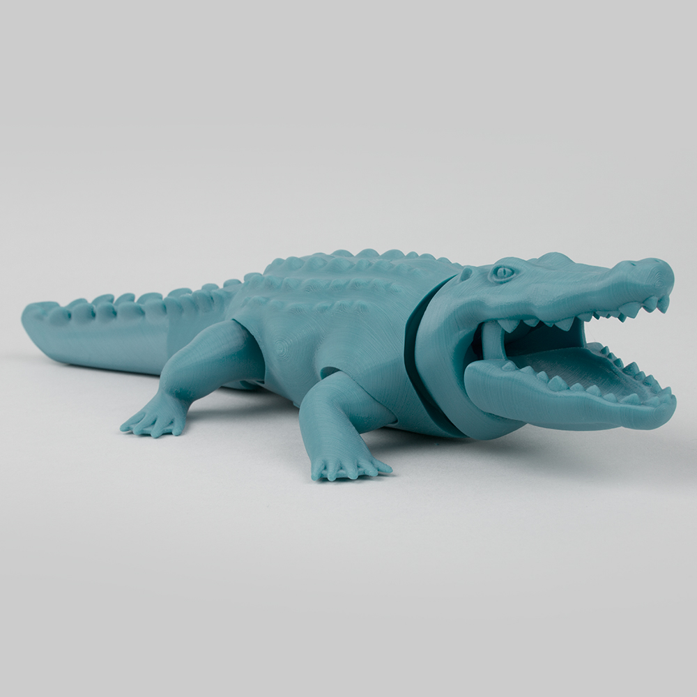 Foldable Crocodile