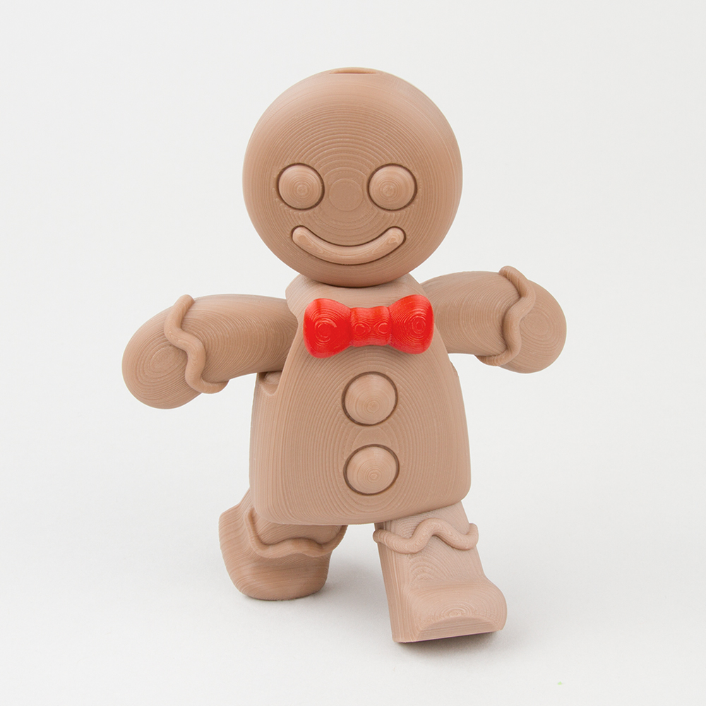 Movable Gingerbread Man