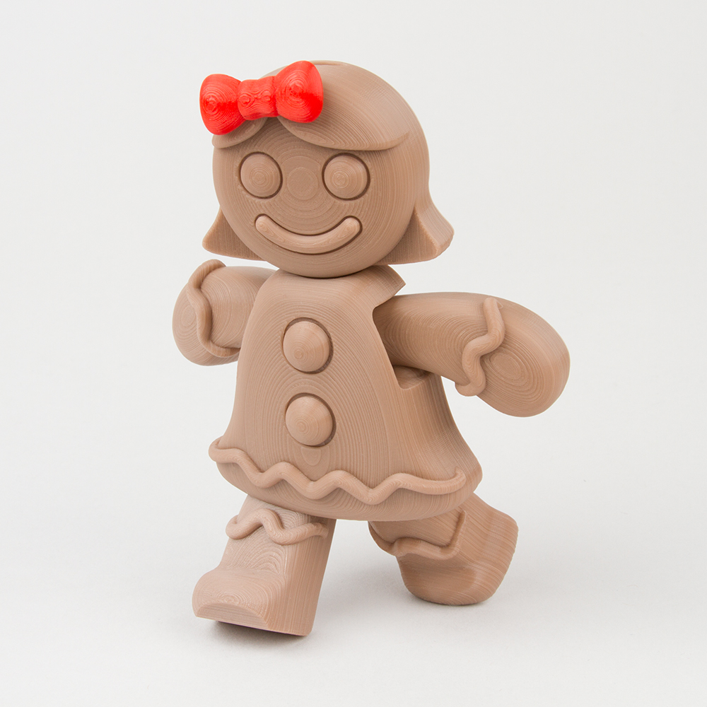 Movable Gingerbread Girl
