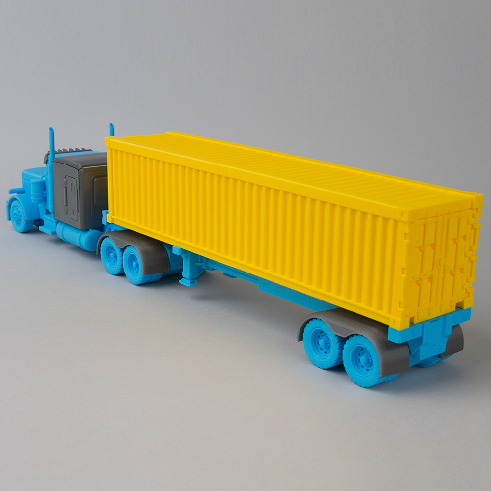 Container scale model