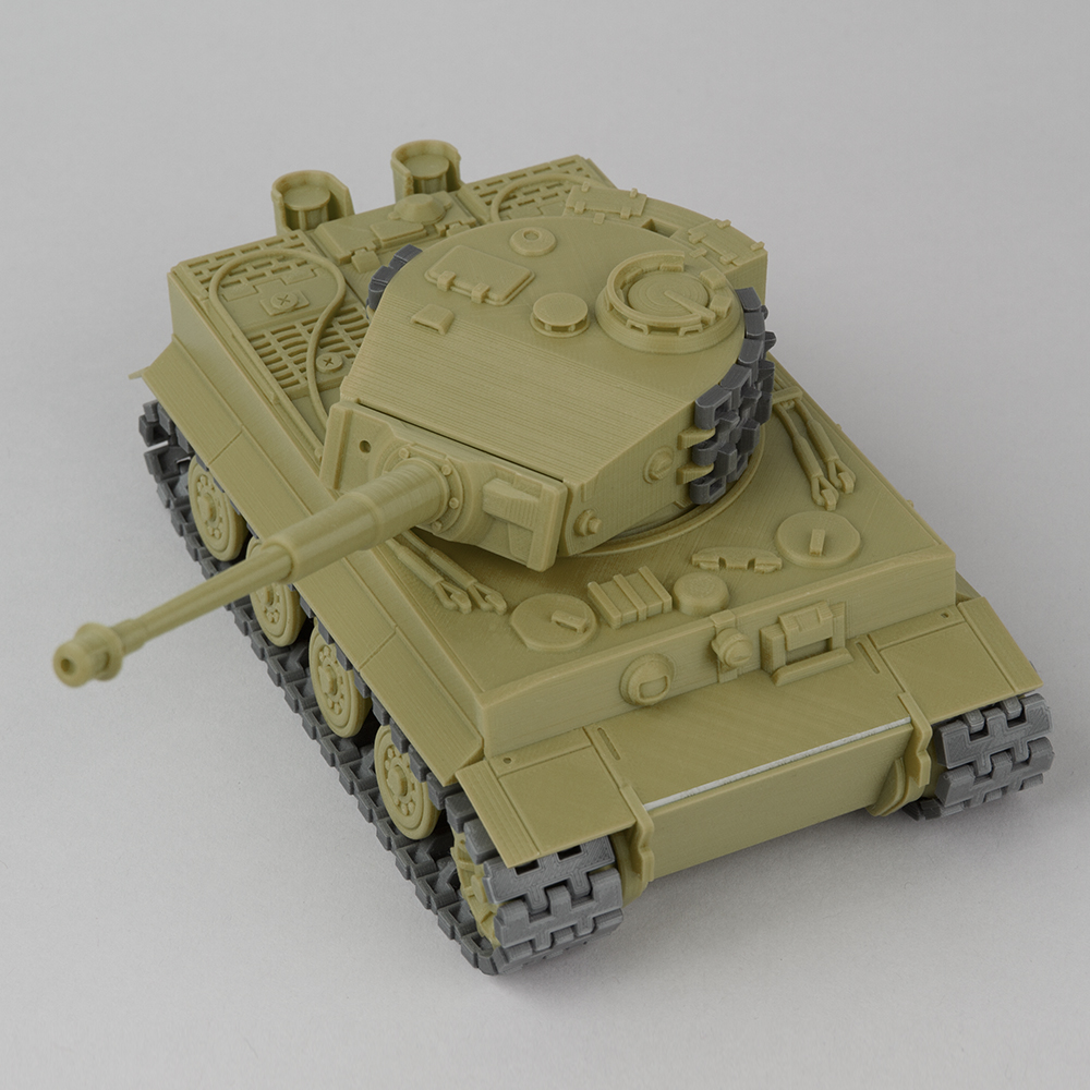 Foldable Tank TIGER-I Late production